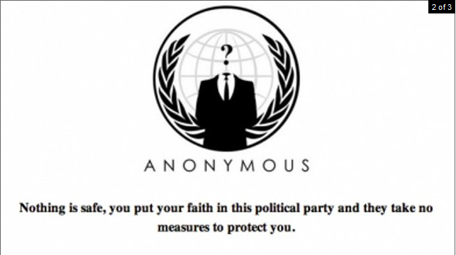 2011-01-10 Fine Gael Claims To Have Been Hacked By Anonymous