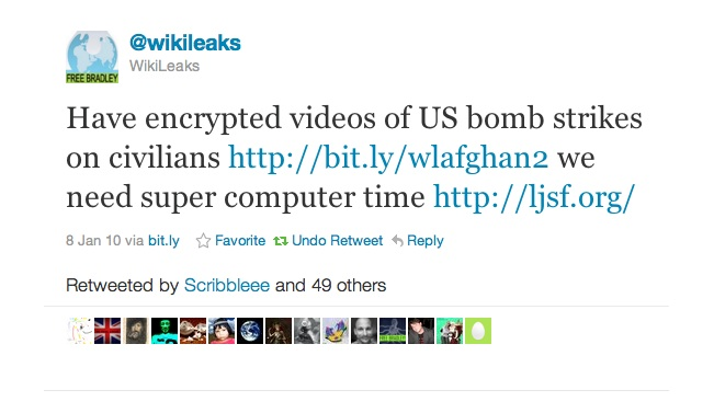 Deciphered version of WikiLeaks encrypted file